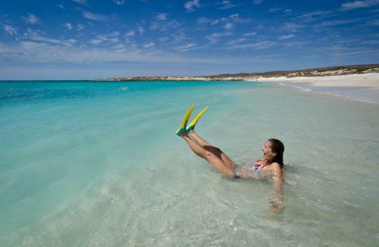 Snorkeling Turquoise Bay